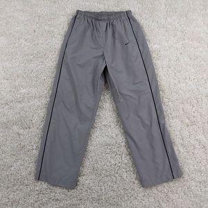 Vintage Nike Windbreaker Pants Men Medium Gray A01